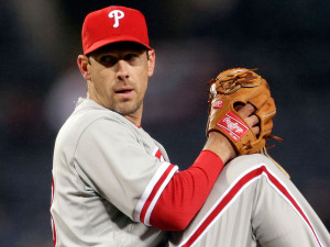Cliff Lee struggled in both full starts after his return from the DL with an elbow injury, then pulled himself from a game with an aggravation to the injury. Photo credit - Philly.com