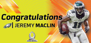 Maclin Named to 1st Pro Bowl