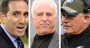 Eagles Unveil Front Office Structural Changes
