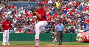 Nola Throws 3 Scoreless in Spring Training Debut