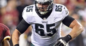 Adjustments Expected on O-Line With Peters Missing Practice