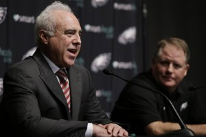 "It wasn't that long ago that Lurie expressed how much he realized how difficult it is to attempt to go from ""good"" to ""great."" Photo Credit - Philadelphia Eagles"