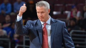 """The Sixers should consider themselves not just thankful but lucky that Coach Brown has put up with the """"Process.""""  Image copyright of NBA.com"""