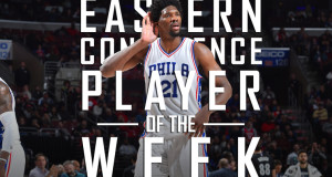 Joel Embiid Named Eastern Conference POW