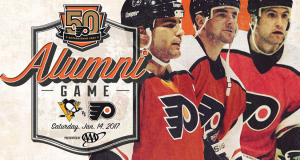 Flyers, Penguins to Celebrate 50th Anniversaries With Alumni Game