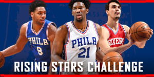 With Embiid on Sidelines, Okafor & Saric Do Battle in Rising Stars Challenge