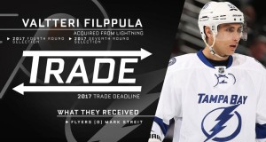 Flyers Trade Streit to Tampa; Get Filppula, 2 Draft Picks