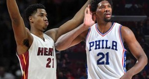 Joel Embiid, Hassan Whiteside Keep Rivalry Going