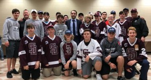 Hockey High School Players in Parkland Meet Gostisbehere