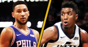 Utah Rookie Donovan Mitchell Looking to Jazz Ben Simmons